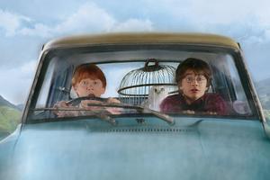 """Гарри, Рон и летучий """"ушастый запорожец"""""""