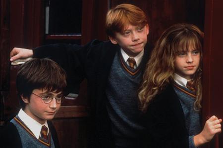 """Кадр из фильма """"Гарри Поттер и философский камень"""""""