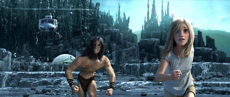 Кадр из мультфильма «Тарзан»