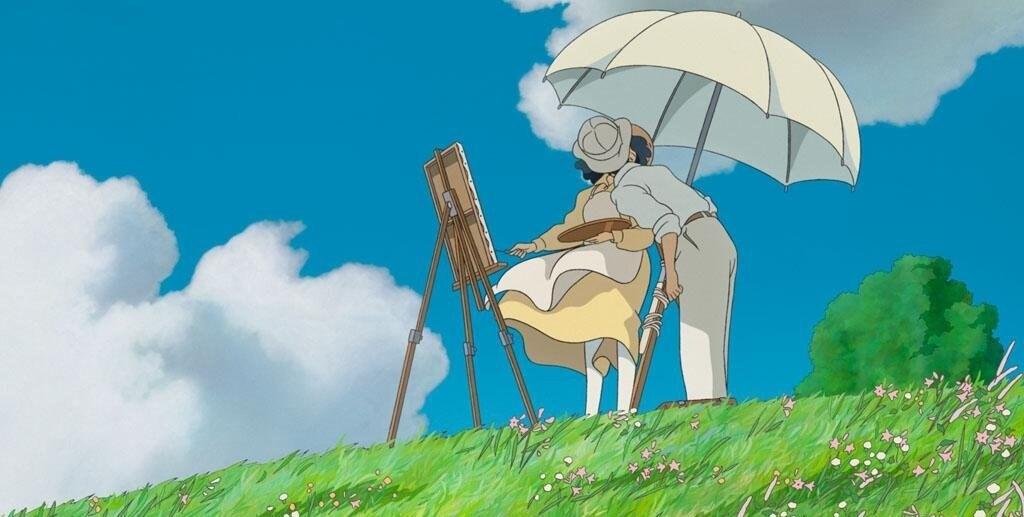Кадр из мультфильма «Ветер крепчает»