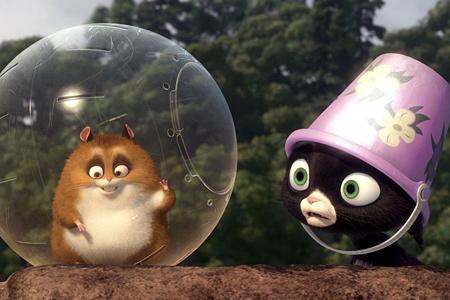 Наверное каждый из вас уже посмотрел мультфильм Вольт.  Так вот в этом мультфильме была кошка по прозвищу Варежка.