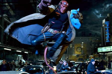 Хеллбой 1-2 / Hellboy 1-2 (2004-2008) BDRip