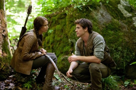 """Shot from the movie """"Hunger Games"""""""