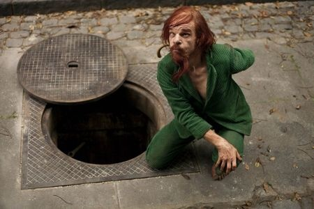 """Shot from the film """"Holy Motors"""""""