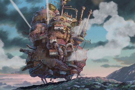 Howl's Moving Castle (Ходячий замок Хаула) HDTVRip 2,18 ГБ