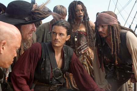 "Кадр из фильма ""Пираты Карибского моря: На краю света"" /Pirates of the Caribbean: At World's End/ (2007)"