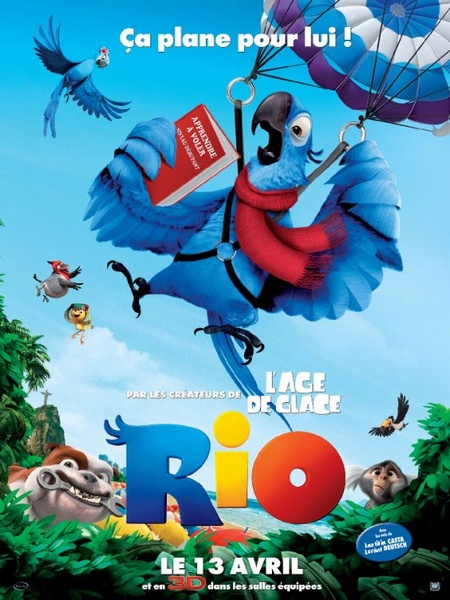 """Постер 20 к фильму """"Рио 3D"""" /Rio/ (2011)"""