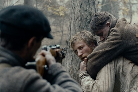 """Shot from the movie """"In the Fog"""""""