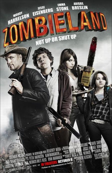 Добро пожаловать в Зомбилэнд / Zombieland (2009)