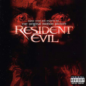 "Обложка диска ""Resident Evil. Music from and inspired by original motion picture"""