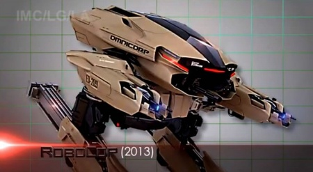 The evil robot ED-209 will be equipped with new powerful weapons