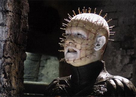 """...многокомпонентная статуэтка из фильма  """"Восставший из ада """" Hellraiser."""