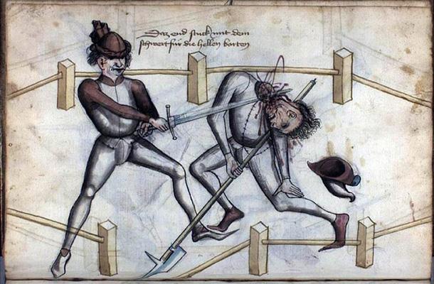 Учебник фехтования