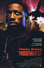 "Постер к фильму ""Пассажир 57"" /Passenger 57/ (1992)"