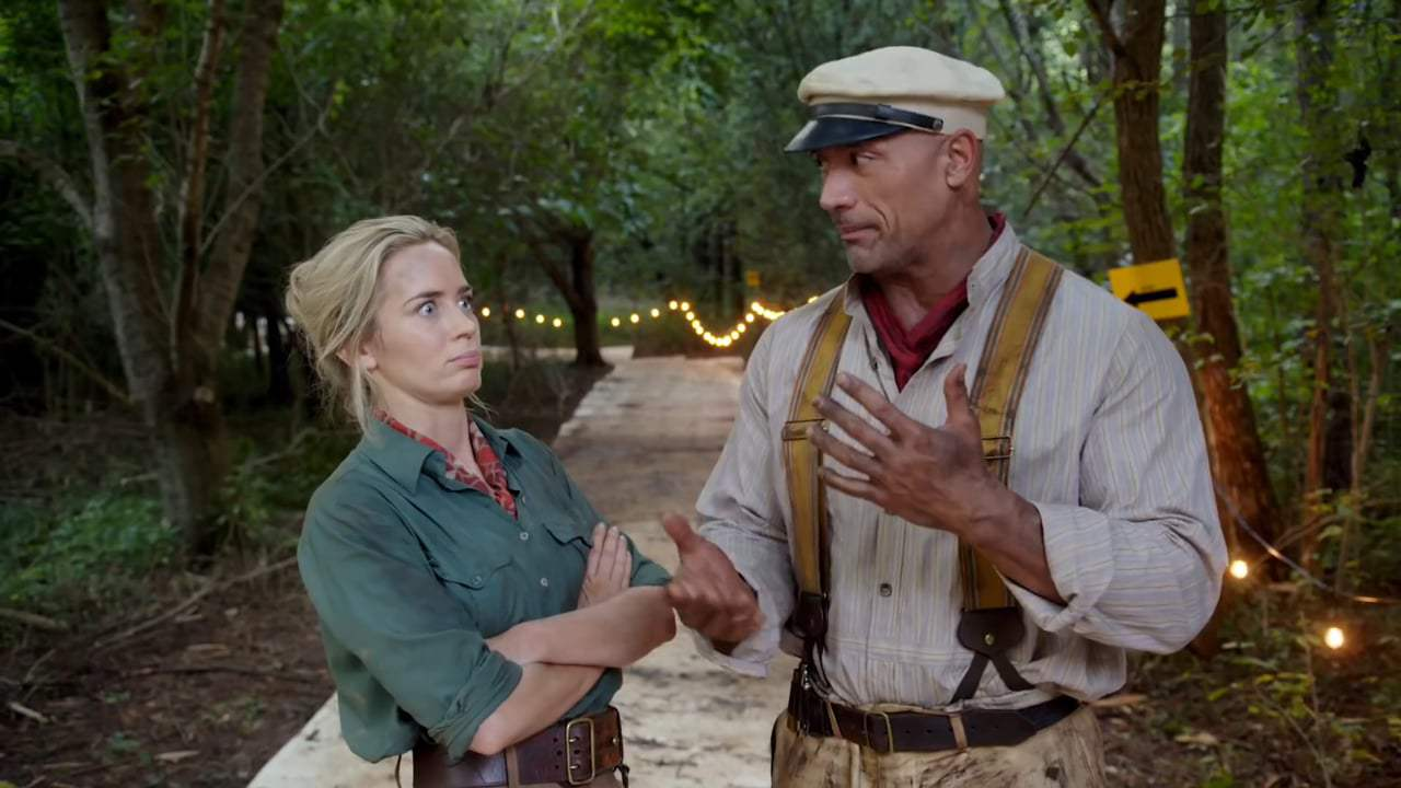 Дуэйн Джонсон и Эмили Блант начали съёмки в «Круизе по джунглям»