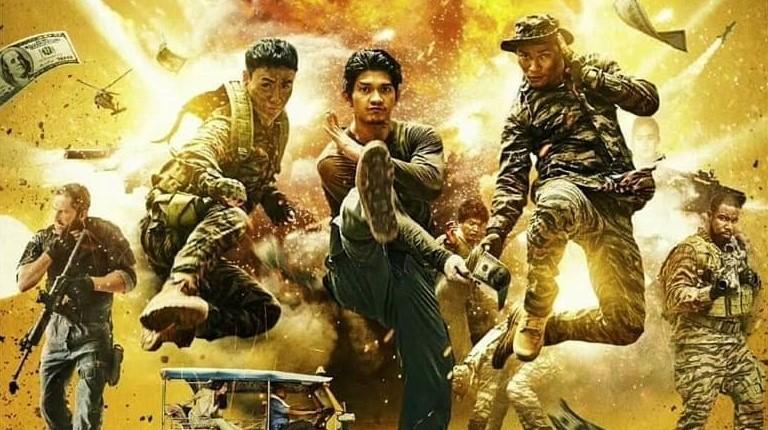Тони Джа, Ико Ювайс и Скотт Эдкинс в новом трейлере «Тройной угрозы»