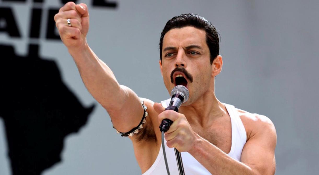Рами Малек на новых постерах «Богемской рапсодии» о группе Queen