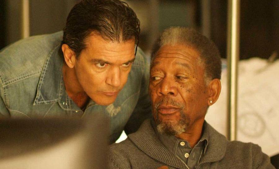 Антонио Бандерас и Морган Фриман в сиквеле «Телохранителя киллера»