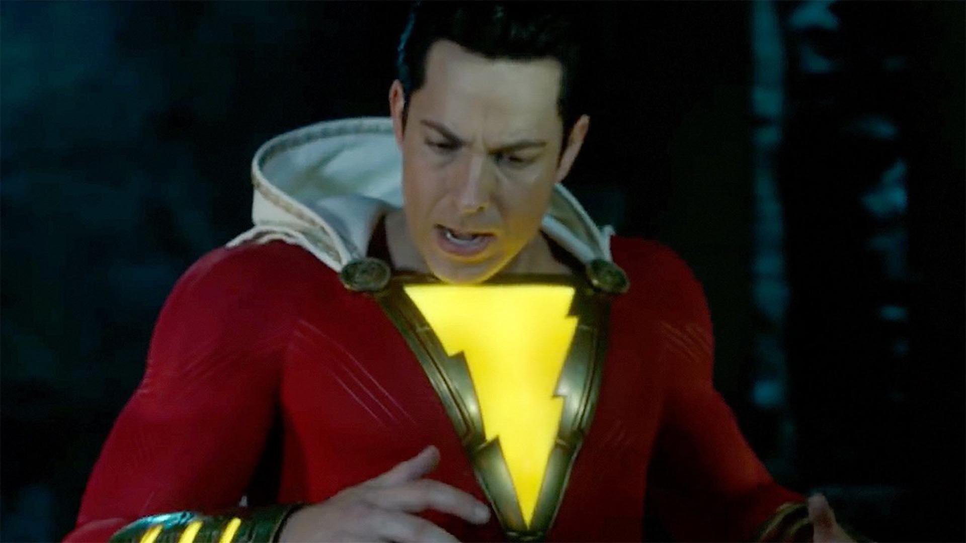 Новые кадры из кинокомикса DC «Шазам!» с Закари Леваем