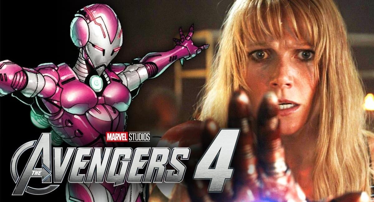 Гвинет Пэлтроу показала свою фиолетовую броню из «Мстителей 4»