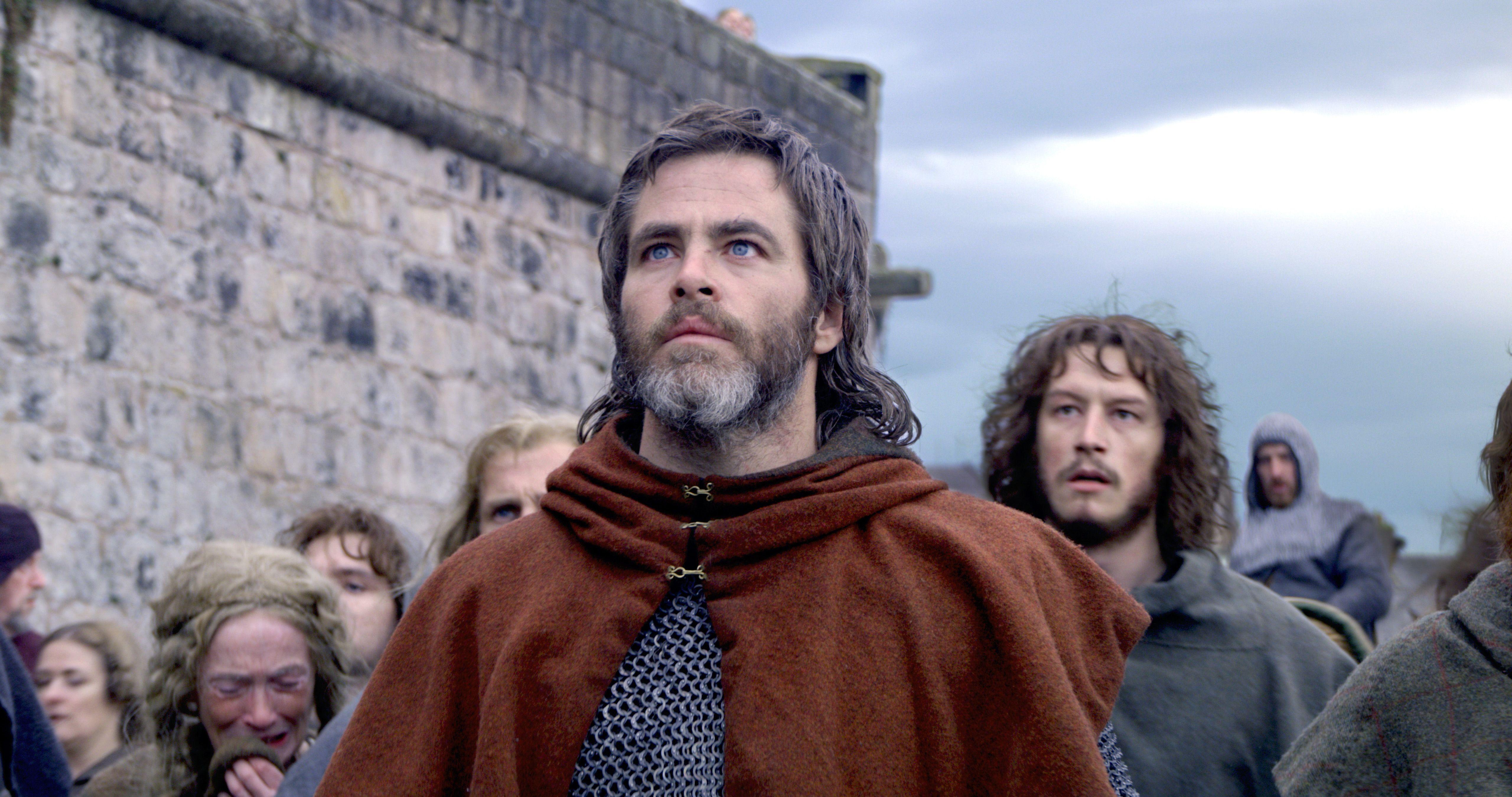 Крис Пайн в трейлере исторического эпика «Король вне закона»