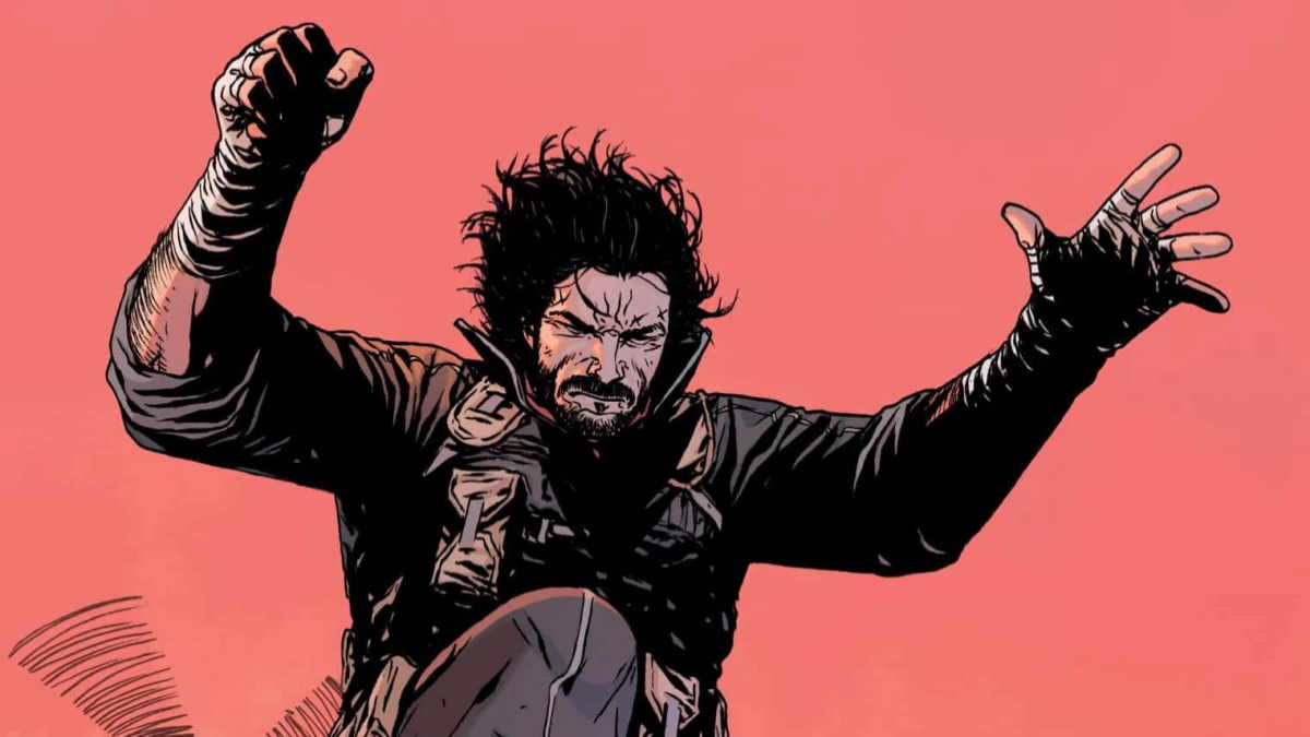 Keanu Reeves will play in the film adaptation of his own BRZRKR comic