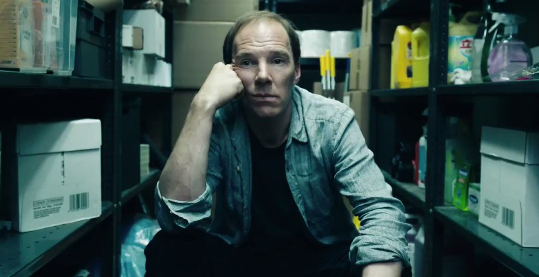 Лысый Бенедикт Камбербэтч в трейлере «Брекзита»