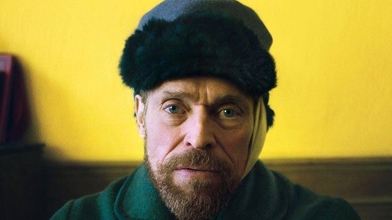 Уиллем Дефо на постере байопика «Ван Гог. На пороге вечности»