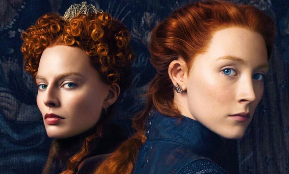 Марго Робби и Сирша Ронан на новом постере «Двух королев»