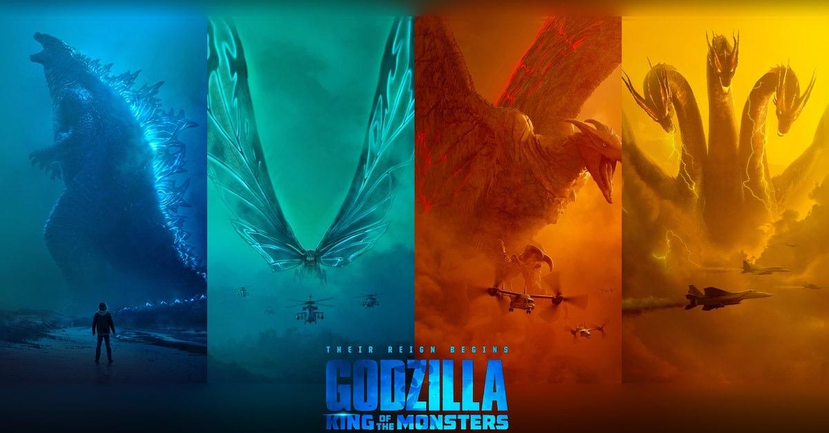 Схватка кайдзю в новом тизере «Годзиллы 2: Король монстров»