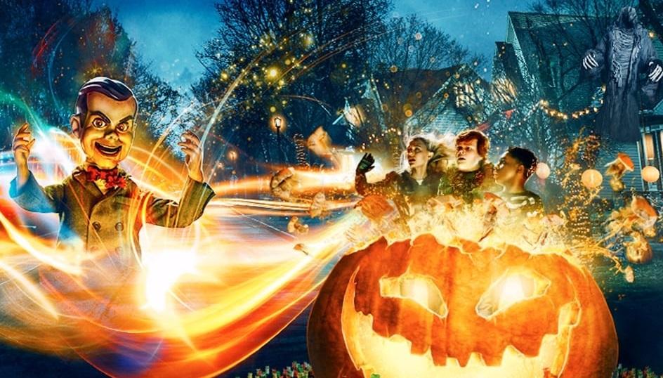 Свежий постер фэнтези «Ужастики 2: Беспокойный Хэллоуин»