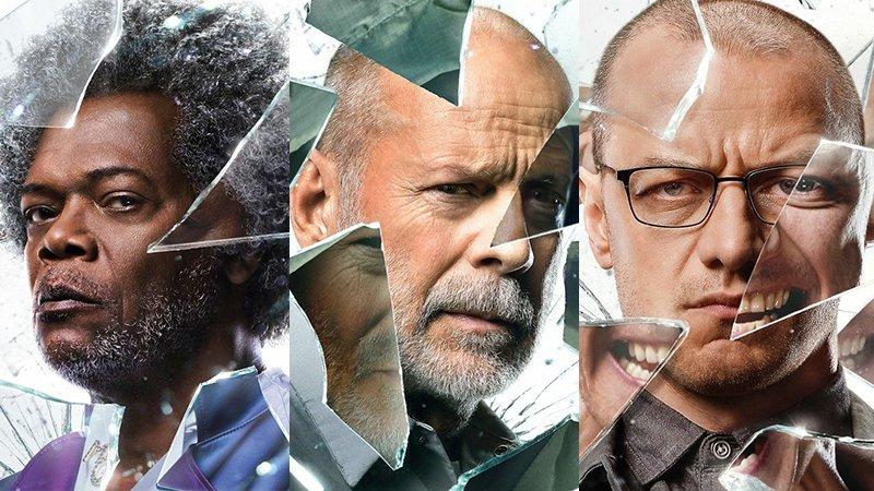 Трио супербезумцев в новом трейлере триллера «Стекло»