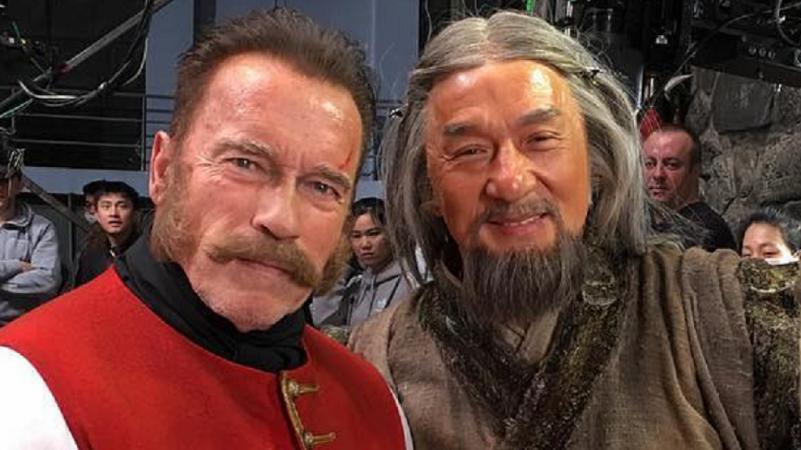 Джеки Чан против Шварценеггера: трейлер «Тайны печати дракона»