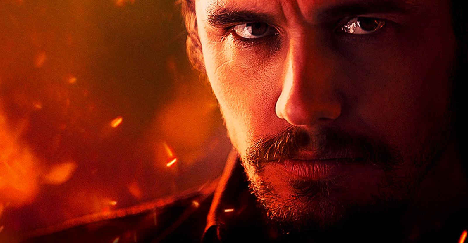 Плакат sci-fi триллера «Кин» с участием Джеймса Франко