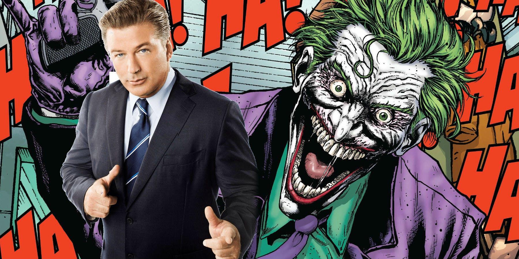 Алек Болдуин выбыл из состава сольного фильма про Джокера