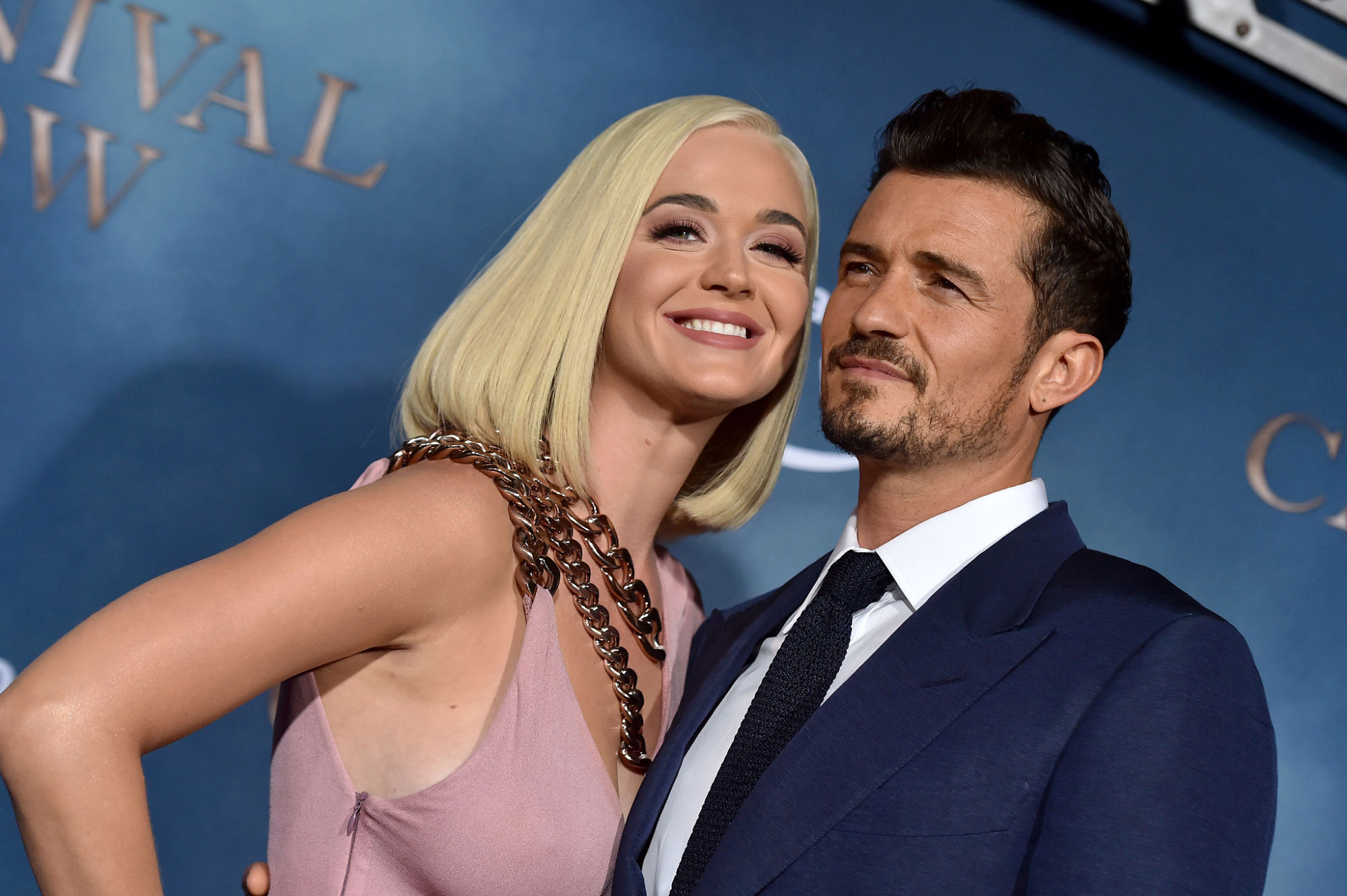 Katy Perry and Orlando Bloom have a secret wedding
