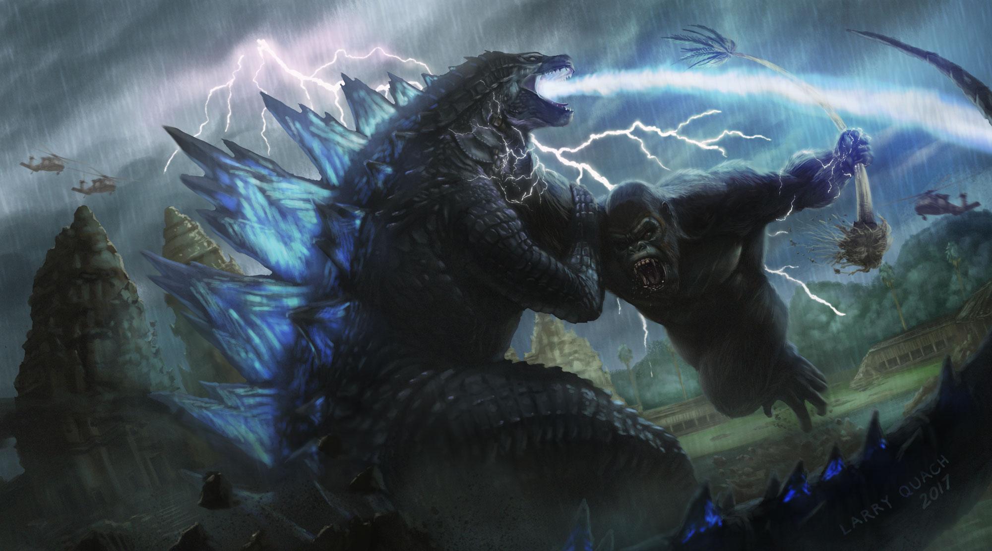 «Годзиллу против Конга» могут перенести