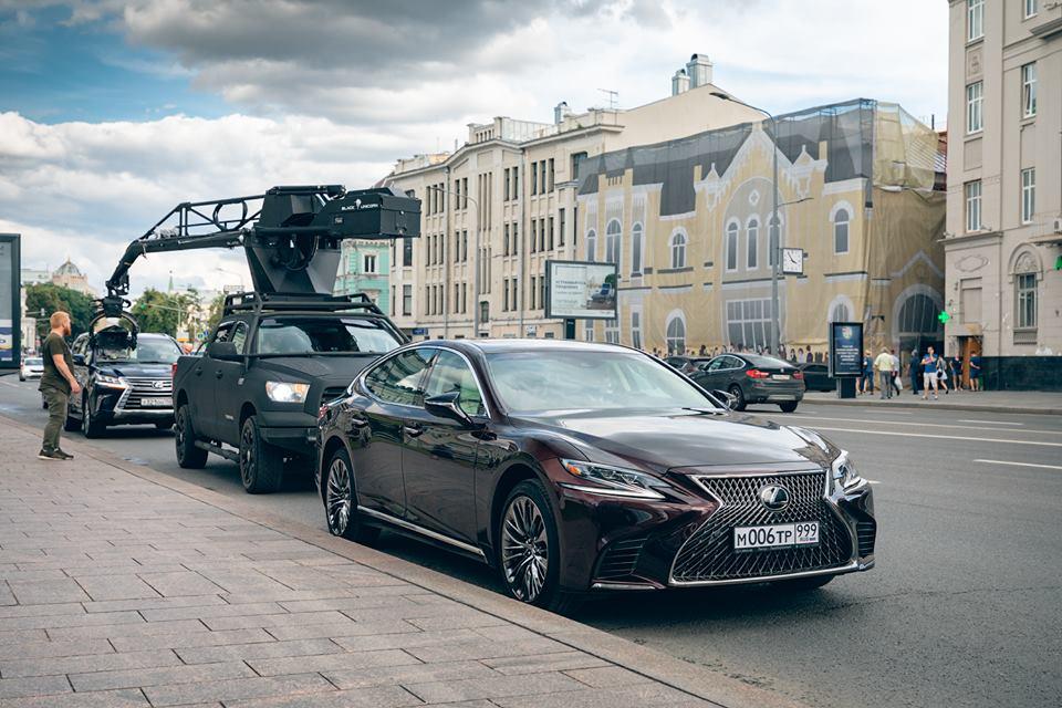Роскошные флагманские модели Lexus раскроют характеры героев фильма «Ампир V»