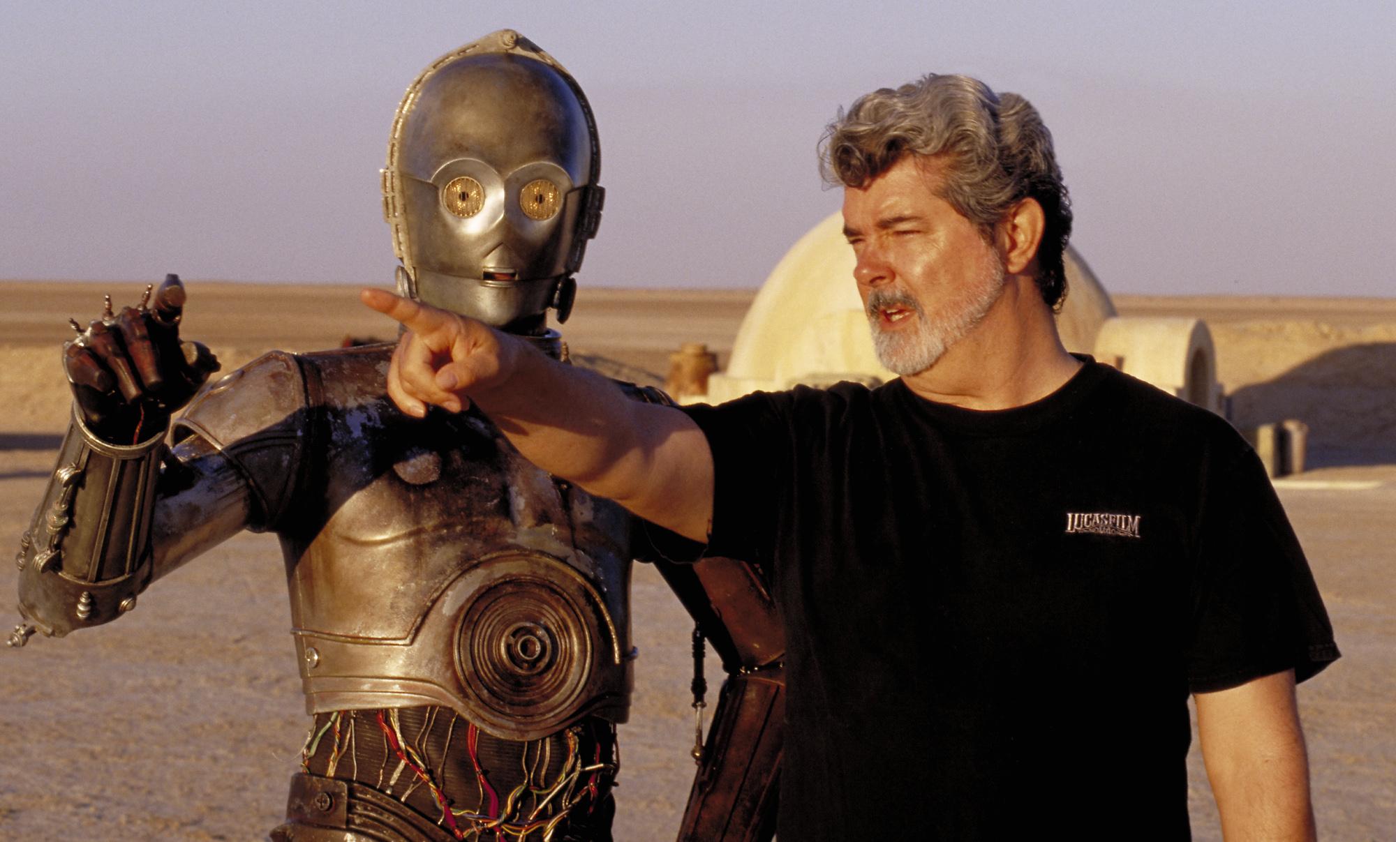 Джордж Лукас заглянул на съёмки сериала по «Звёздным войнам»