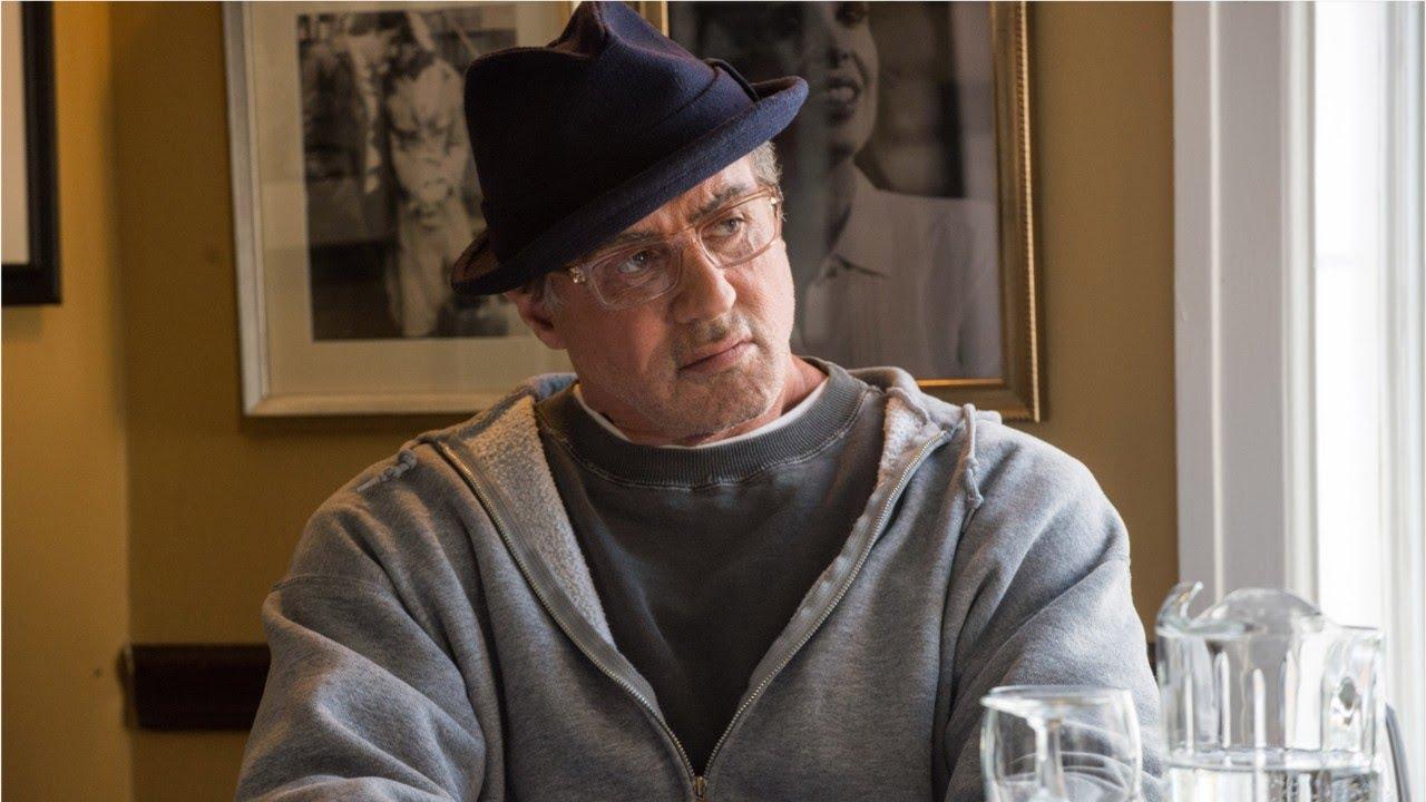 Сильвестр Сталлоне на кадре из сиквела «Крида: Наследие Рокки»