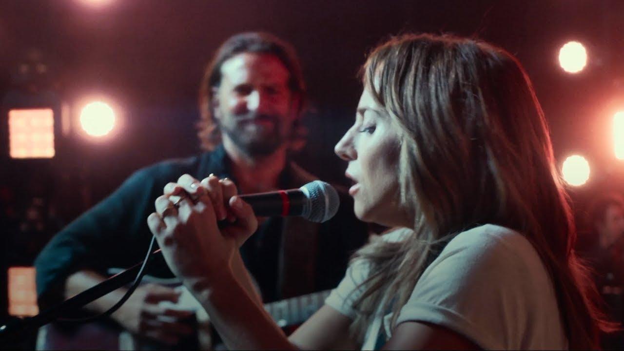 Отрывки из фильма «Звезда родилась» с Брэдли Купером и Леди Гагой