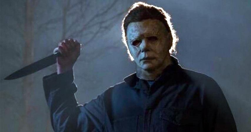 Стильный плакат новой части хоррора «Хэллоуин» от Blumhouse