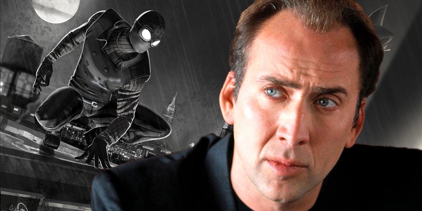 Николас Кейдж подарит свой голос нуарному Человеку-пауку