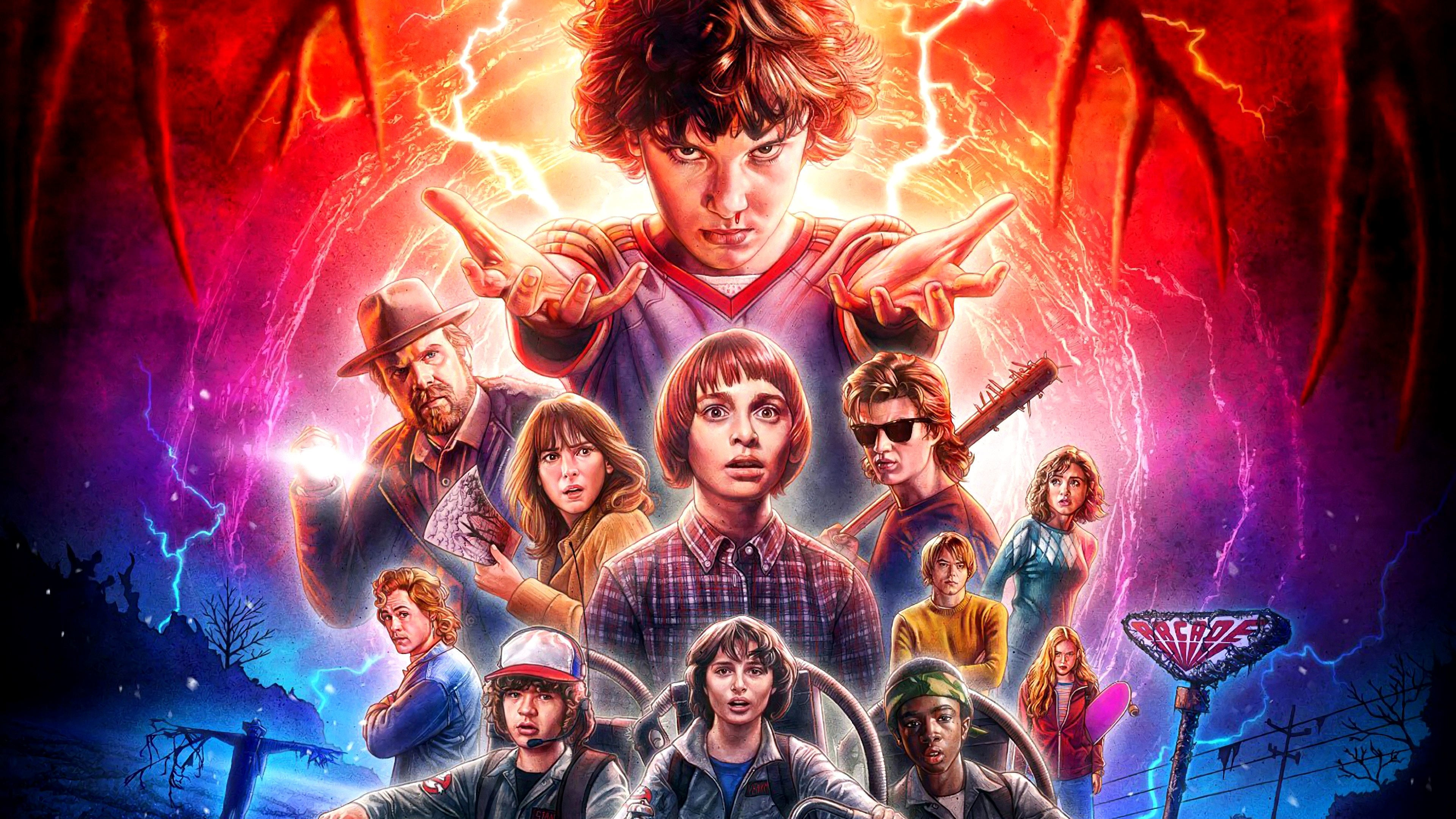 Netflix показали тизер нового сезона «Очень странных дел»