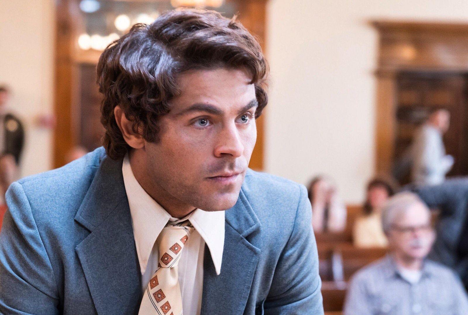 Зак Эфрон на съёмках триллера «Красивый, плохой, злой» о Теде Банди