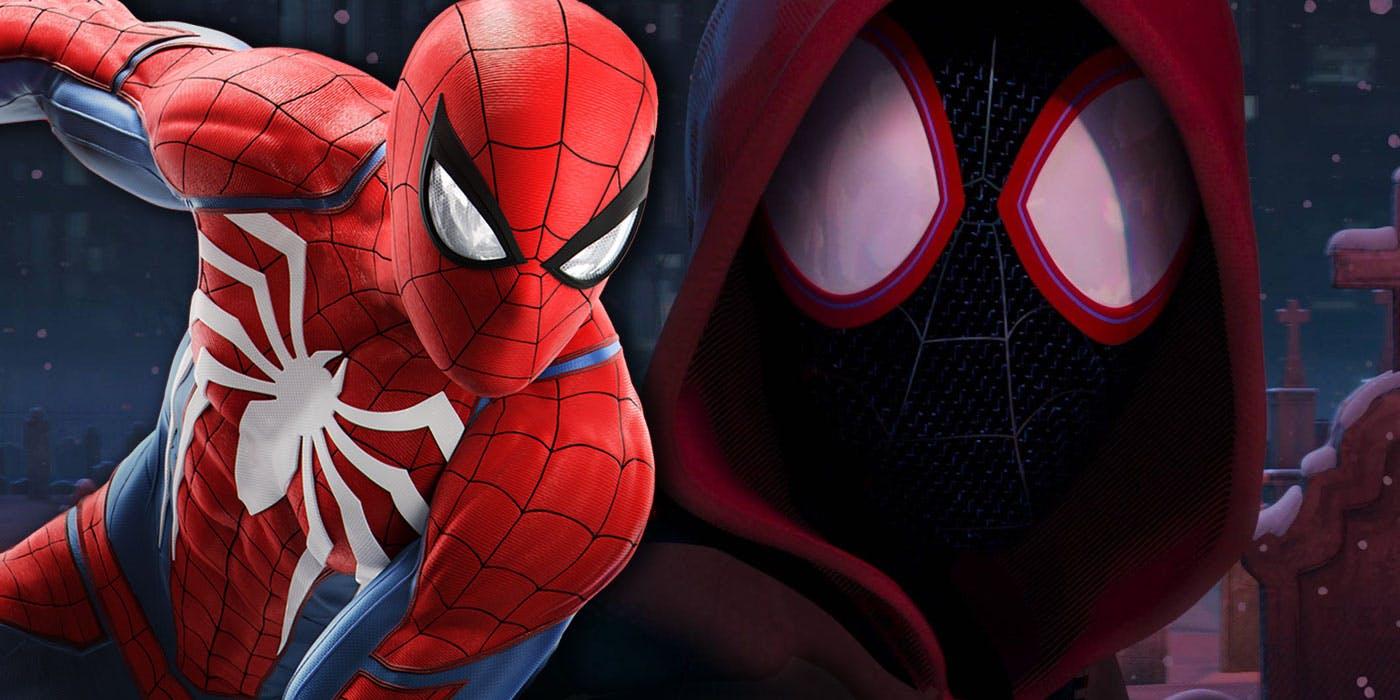 Постеры «Человека-паука: Через вселенные» с Нуарным и Гвэн-пауком