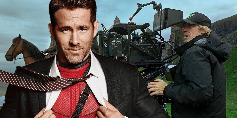 Райан Рейнольдс на съёмках боевика Майкла Бэя «6 в подполье»