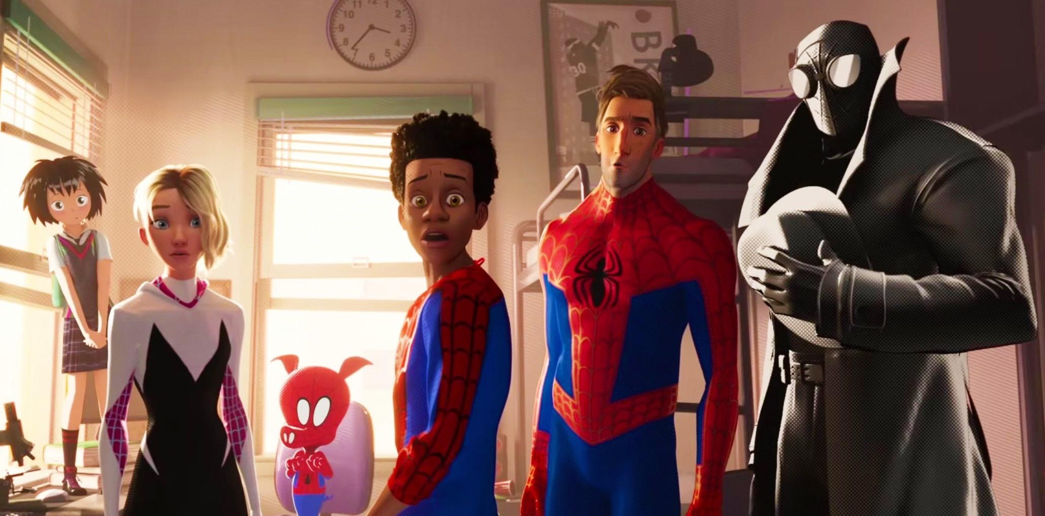 Свин-паук и Нуарный паук в новом трейлере «Человека-паука: Через вселенные»