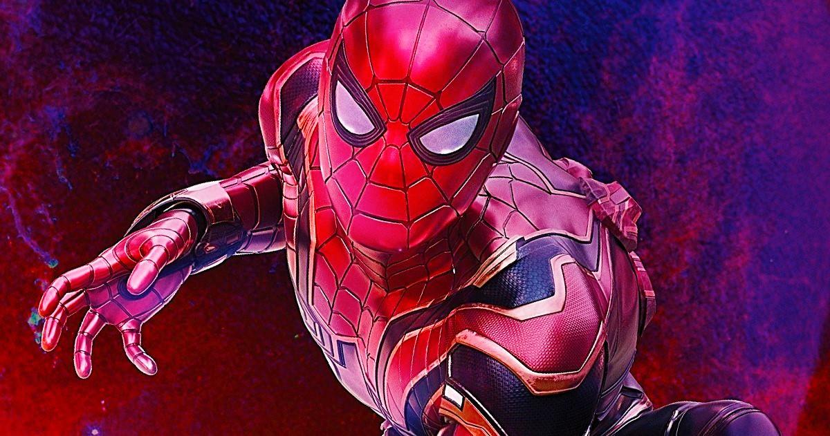 Том Холлэнд на съёмках «Человека-паука: Вдали от дома»