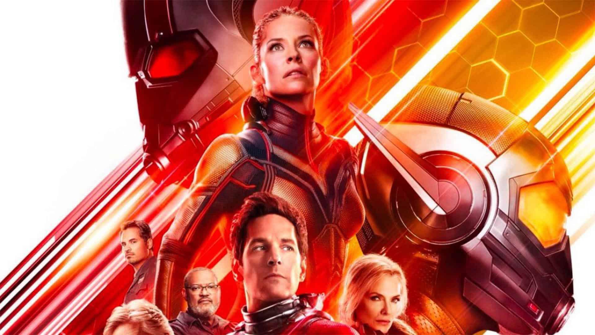 ТВ-спот и кадр из «Человека-муравья и Осы» от Marvel